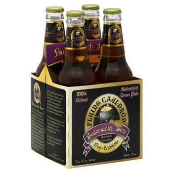 Flying Cauldron Butterscotch Beer 4 Pack