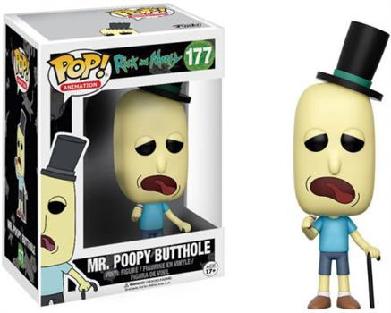 POP: Rick & Morty: Mr. Poopy Butthole