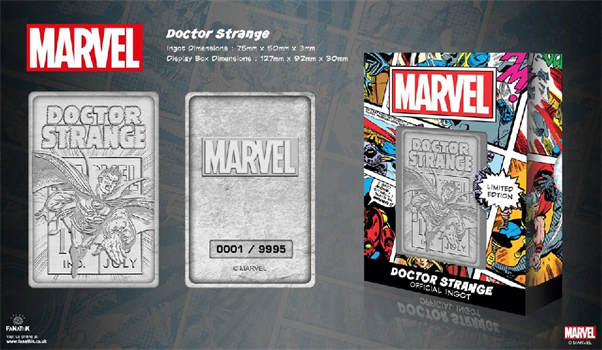 Limited Edition Marvel Ingot - Doctor Strange