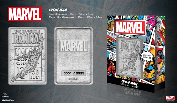 Limited Edition Marvel Ingot - Iron Man