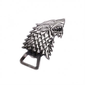 Sculpted Bottle Opener - Game Of Thrones (Stark)