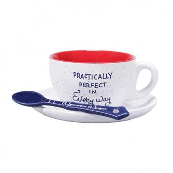 Cup & Saucer Set - Mary Poppins (Perfect)