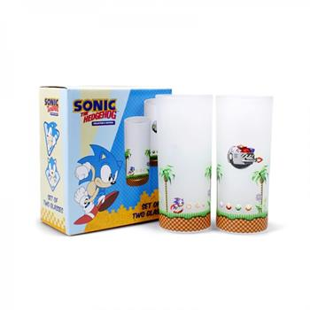 Glasses Set Of 2 - Sonic (Sonic & Eggman)