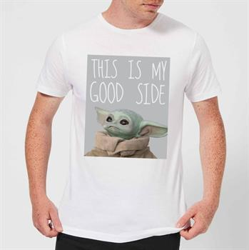 Mandalorian The Child The Good Side Tee Small