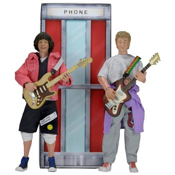 "Bill and Ted 8"" Clothed Figure 2 Pack (NECA)"