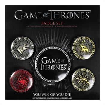 Game of Thrones Badge Pack