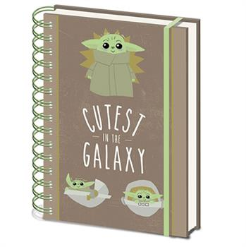 Star Wars The Madalorian Cutest In Galaxy Notebook