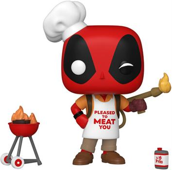 POP Marvel: Deadpool 30th- Backyard Grill Deadpool