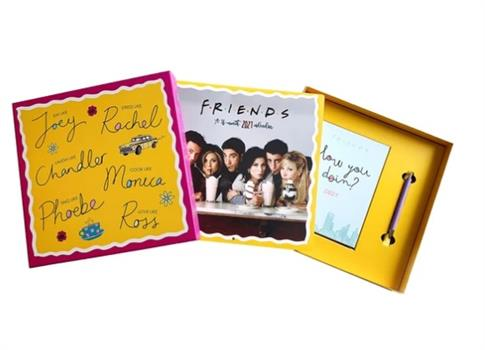 Friends 2021 Calendar and Diary Gift Box