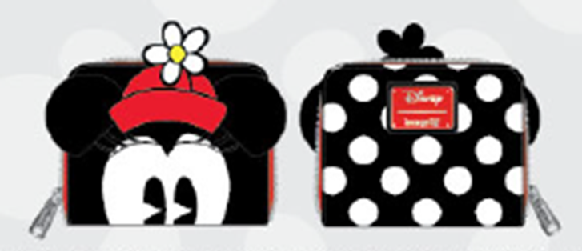 Loungefly: Positively Minnie Polka Dot Zip Wallet