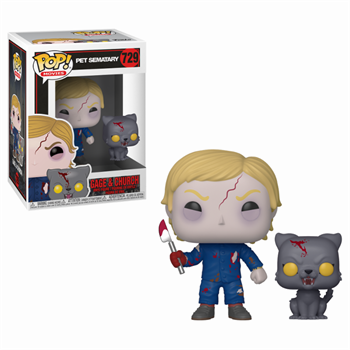 POP & Buddy: Pet Sematary - Undead Gage & Church