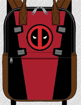 Loungefly: Deadpool Cosplay Square Nylon Backpack