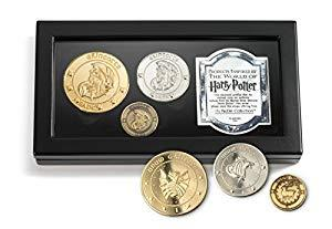 Harry Potter Gringott's Bank 3 Coin Box Set