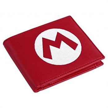 Nintendo - Super Mario Red Bifold Wallet