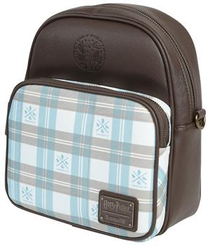 Loungefly: Harry Potter Brown/Blue Backpack
