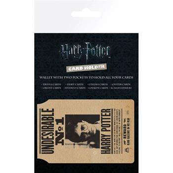 Harry Potter Undesirable No 1 Card Holder