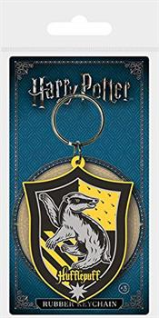 Harry Potter (Hufflepuff) Rubber Keychain