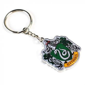 Harry Potter Keyring Header Card - Slytherin Crest