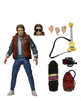 "BTTF Part 1 Ultimate Marty 7"" Scale Action Figure"