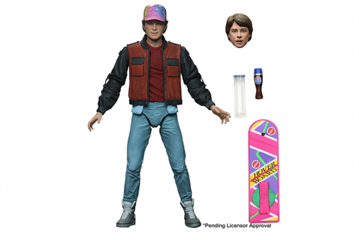 "BTTF Part 2 Ultimate Marty 7"" Scale Action Figure"