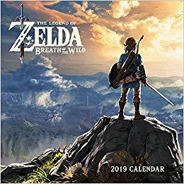 Legend of Zelda: Breath of the Wild 2019 Wall Cale