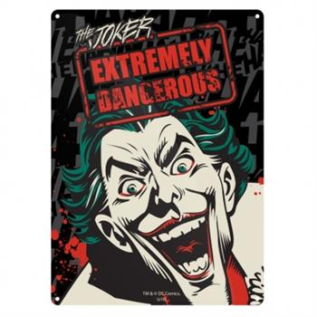 Tin Sign Small - Batman (Joker)