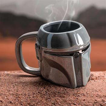 Mandalorian Shaped Mug
