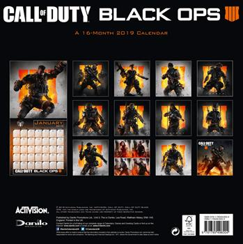 Call of Duty 2019 Calendar