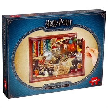 Harry Potter Collectors 1000PC (Hogwarts)