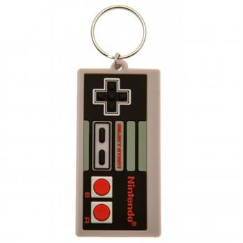 NINTENDO (NES CONTROLLER) RUBBER KEYCHAIN