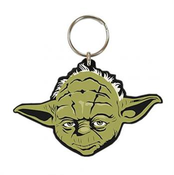 Star Wars Yoda Rubber Keychain