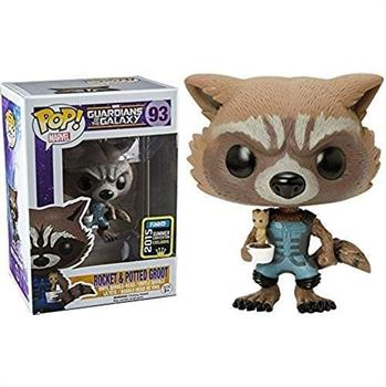 POP! Movies: GOTG: Rocket & Potted Groot NYCC