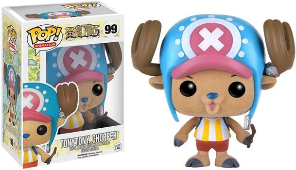 POP: One Piece: Tony Tony Chopper Flocked