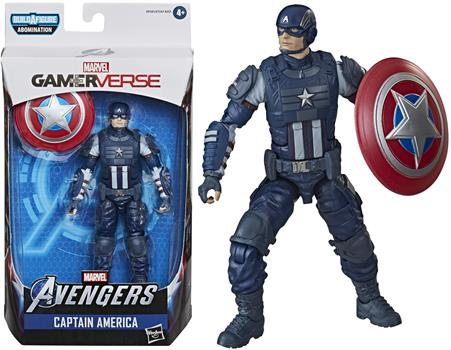 "Avengers Legends Video Game 6"" Captain America"