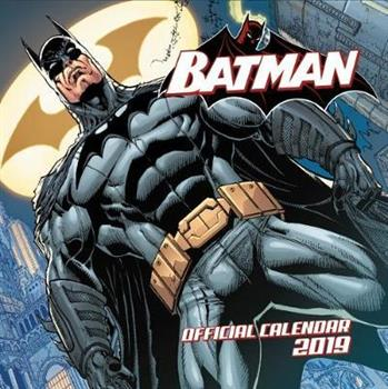 Batman Comics 2019 Calendar
