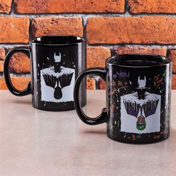 Batman & Joker Heat Change Mug