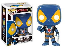 POP! Deadpool Blue And Yellow Suit Exc