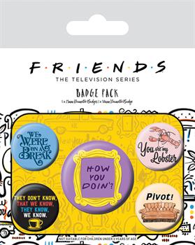Friends (Quotes) Badge Pack