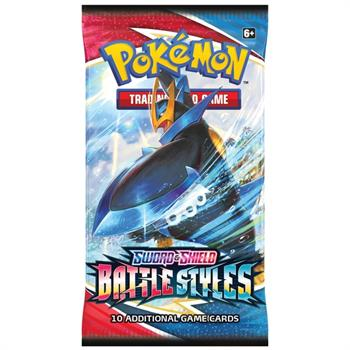 Pokemon TCG: Sword & Shield 5 Battle Styles 1 Pack