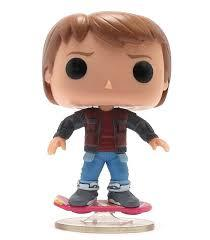 POP! BTTF: Marty on Hoverboard Exc