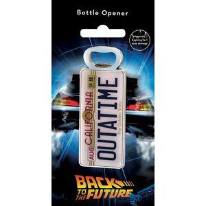 Back to the Future License Plate Bottle Opener