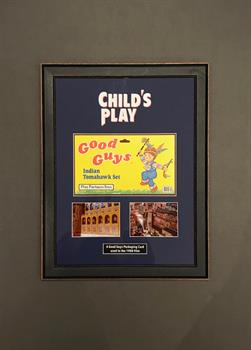 Child's Play (1988) - Good Guy Packaging Card Prop