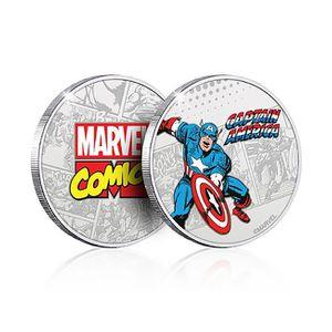 Captain America Commemorative Coin