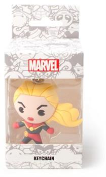 Marvel - Captain Marvel 3D Rubber Keychain
