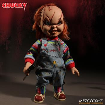 "Child's Play - Scarred Chucky 15"" Talking Doll"