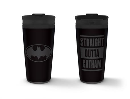 Batman - Straight Outta Gotham Metal Travel Mug