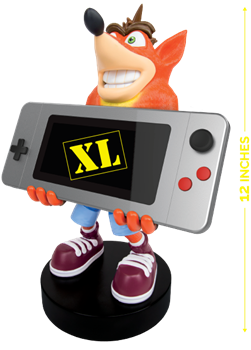 Cable Guy Phone & Controller Holder - Crash Bandicoot XL