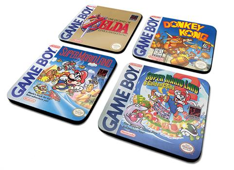 GAMEBOY (CLASSIC COLLECTION) COASTER SET