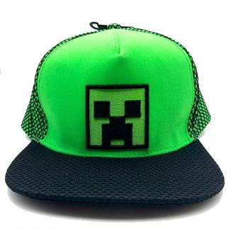 Minecraft High Build Embroidery Cap