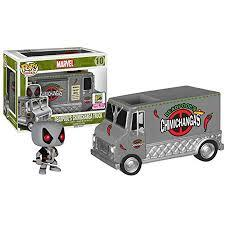 POP Rides: Marvel: Deadpool X-Force Chimichanga Tr